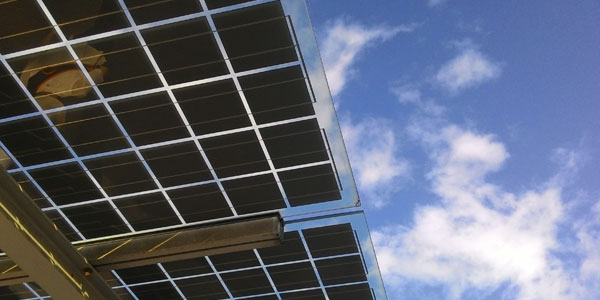 Limpieza de paneles solares