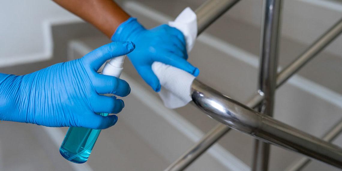 Limpieza de comunidades durante la pandemia de coronavirus