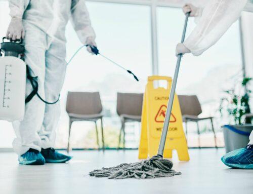 Servicio de limpieza en tiempos de coronavirus